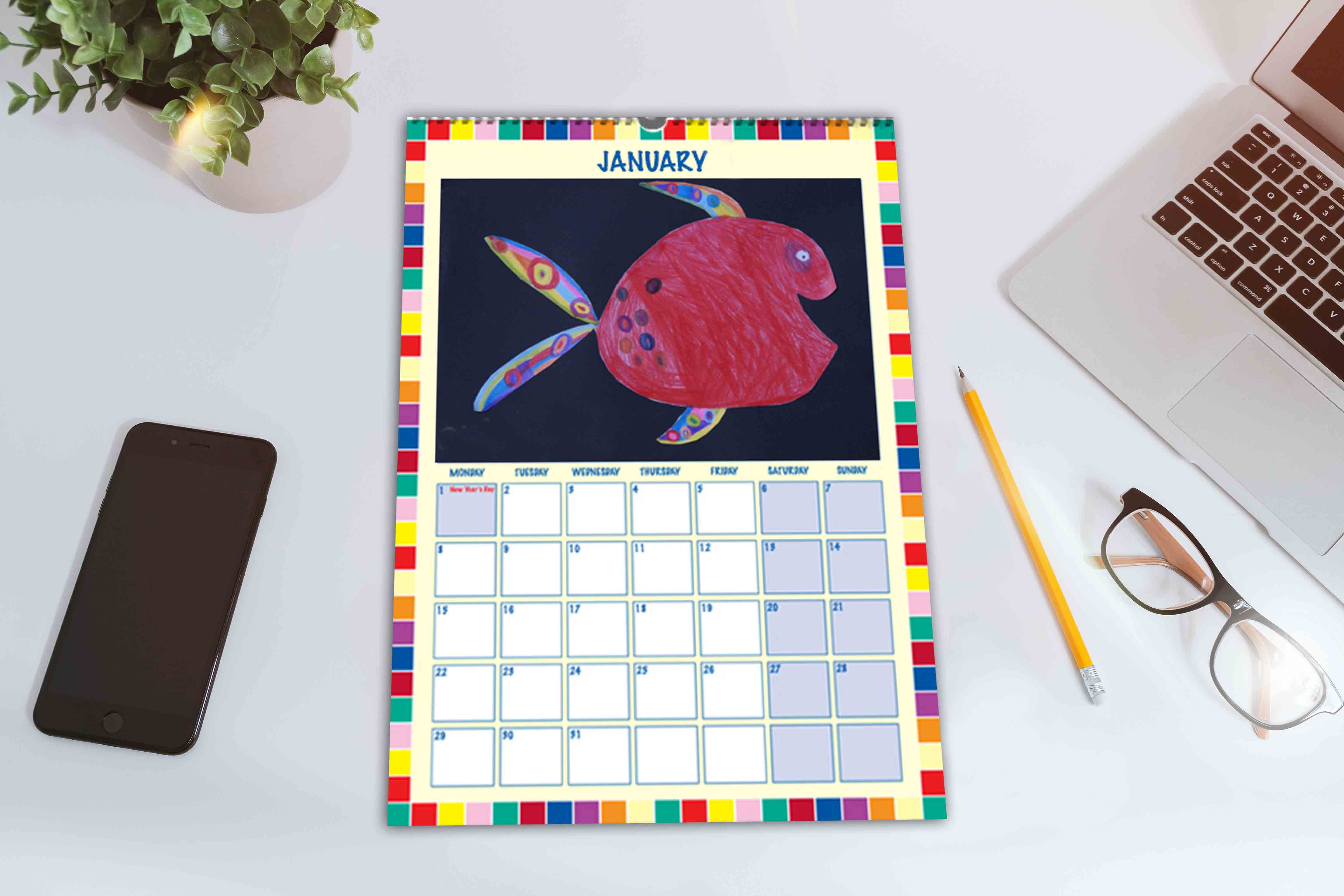 Bespoke School Fundraising Calendar