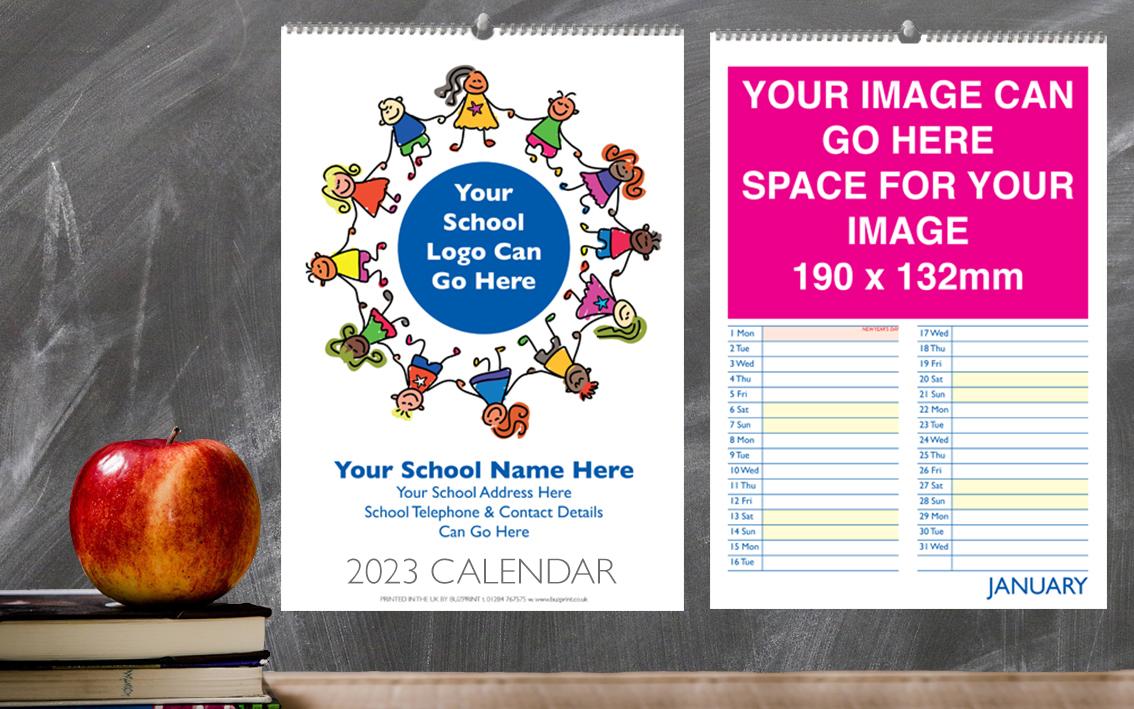 School Calendar Design B