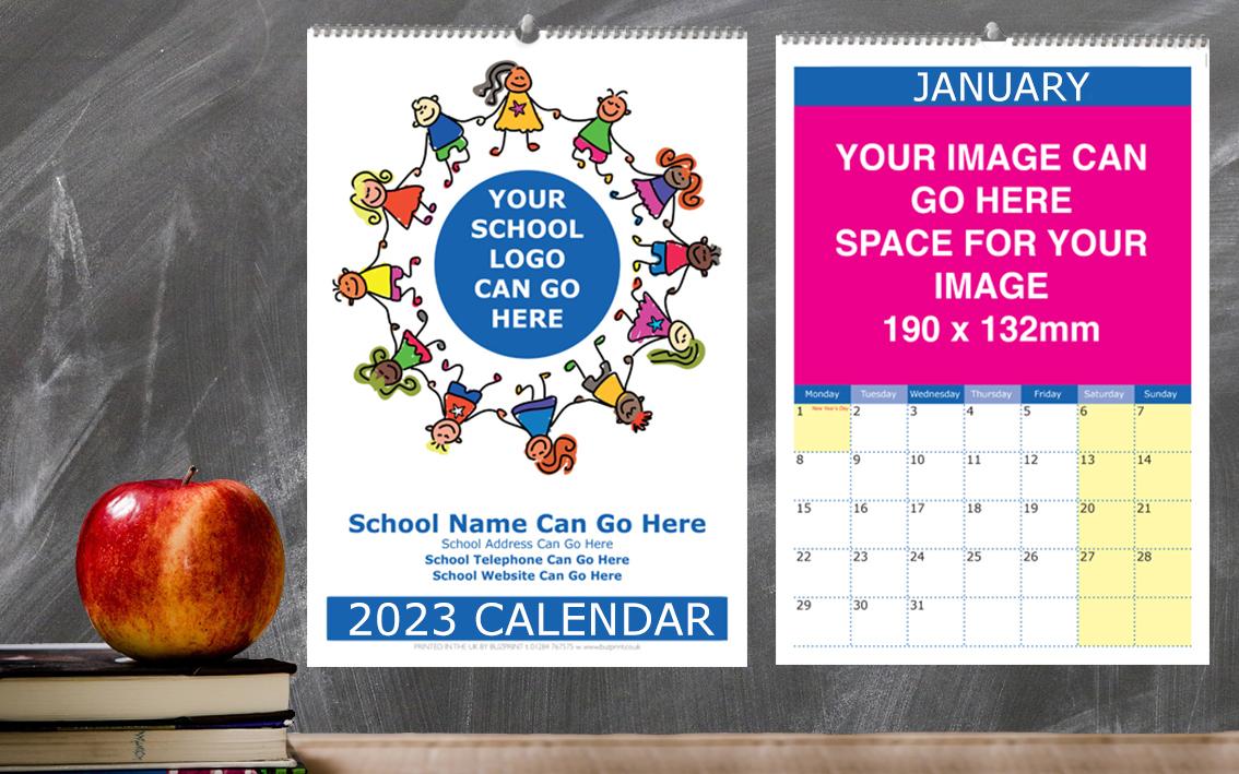 School Calendar Design F