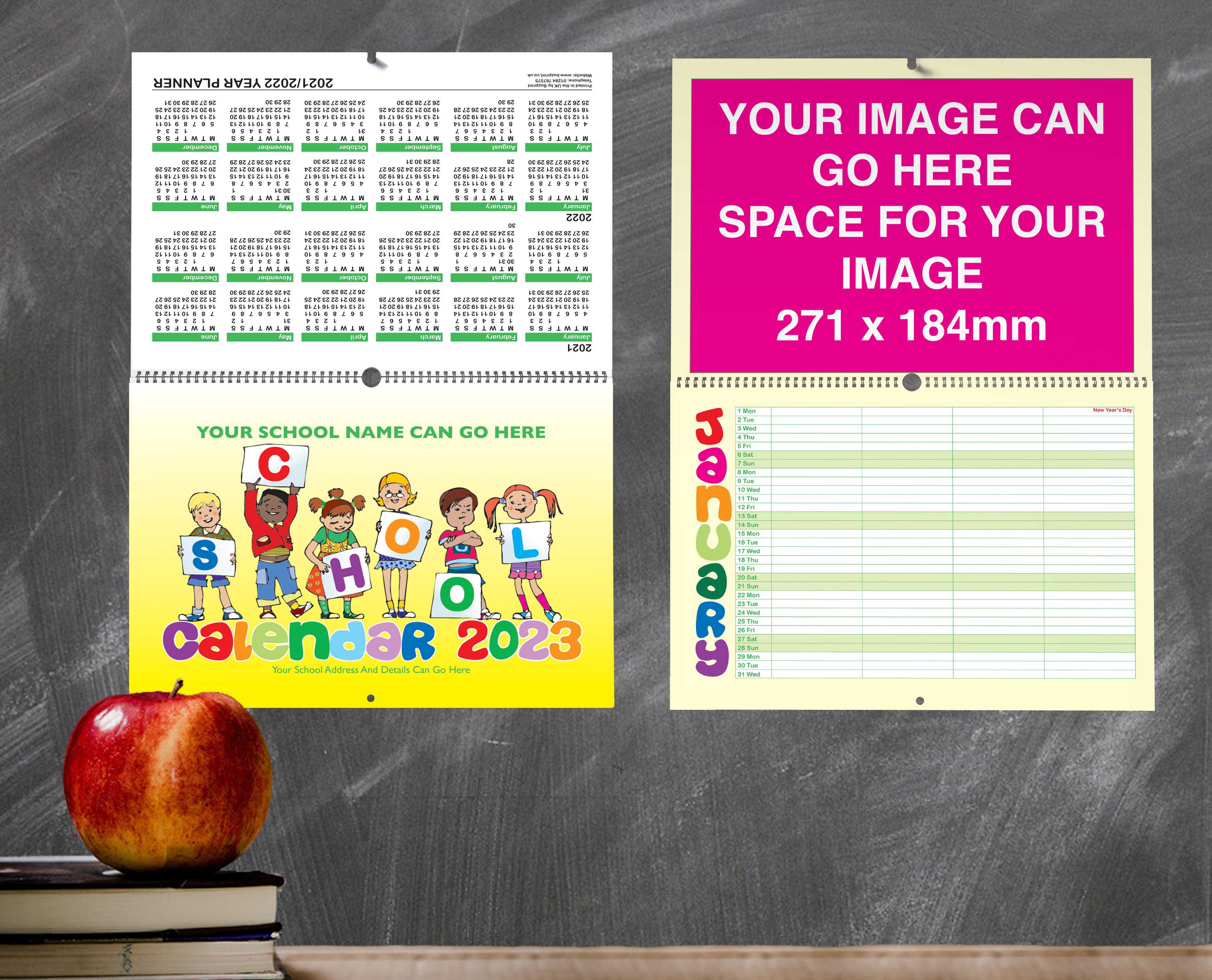 School Calendar Design G