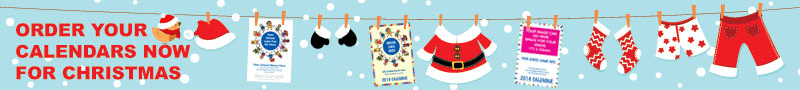 Christmas School calendars