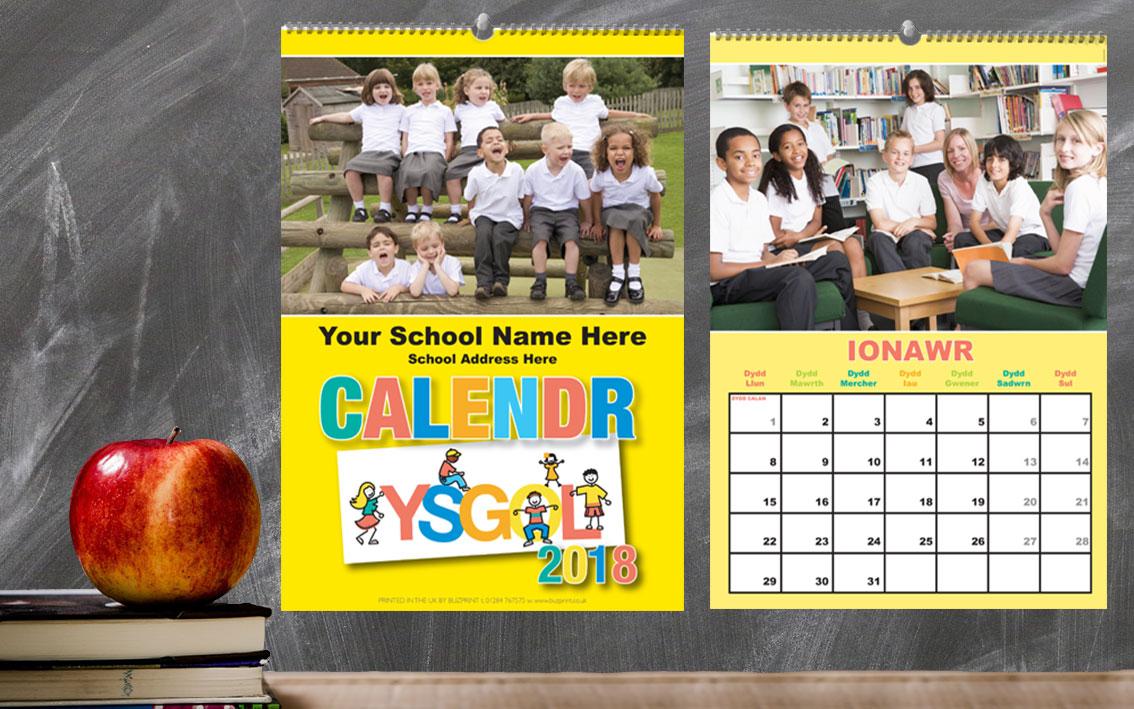 Welsh School calendar