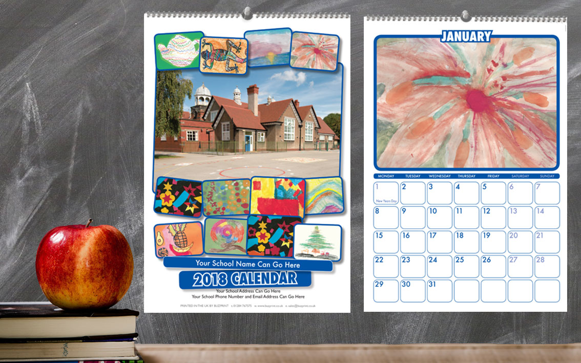 School Calendar Design M