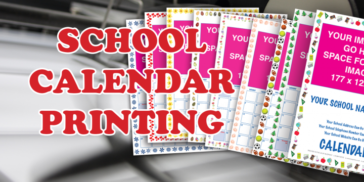 School Calendar Printing