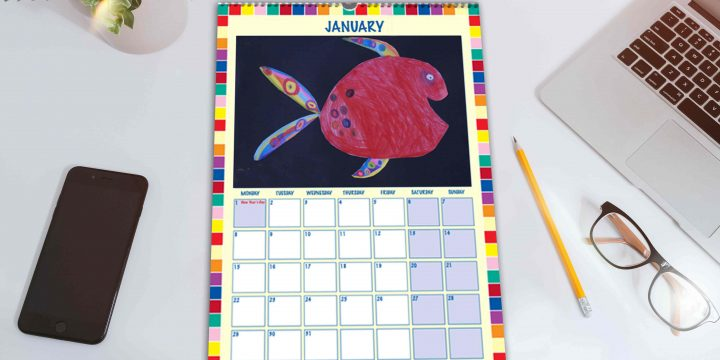 2021 Bespoke School Fundraising Calendar