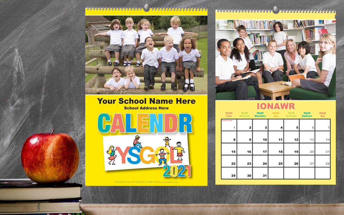 Welsh School Fundraising Calendars