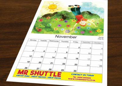 Calendar Advertising