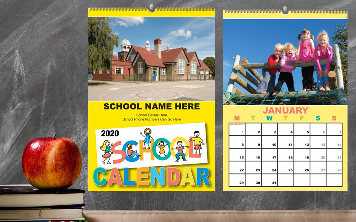 Calendar Design For School : School calendar
