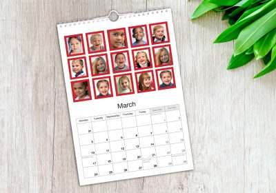 School Collage Calendar
